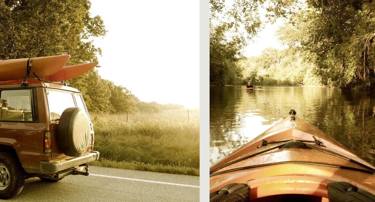kayak weekenders